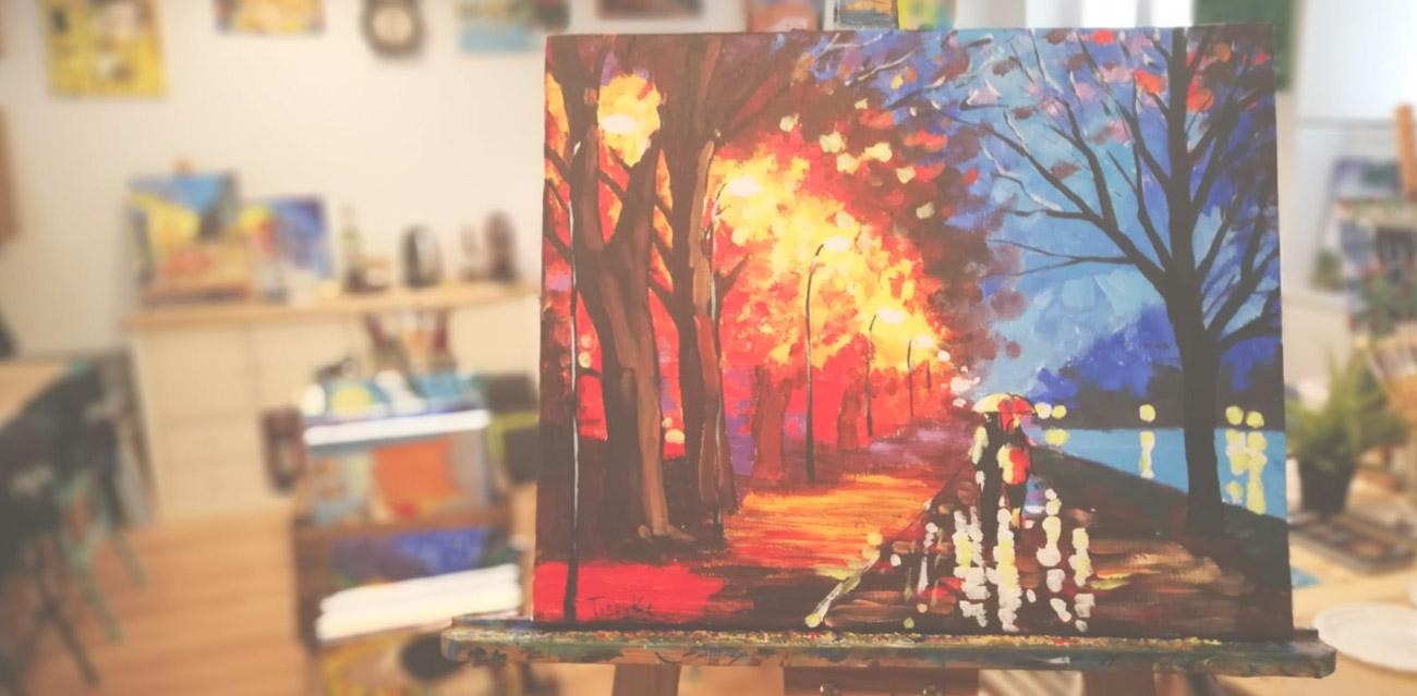 Ocio en madrid 2x1 para pintar tu cuadro despues de la cuarentena