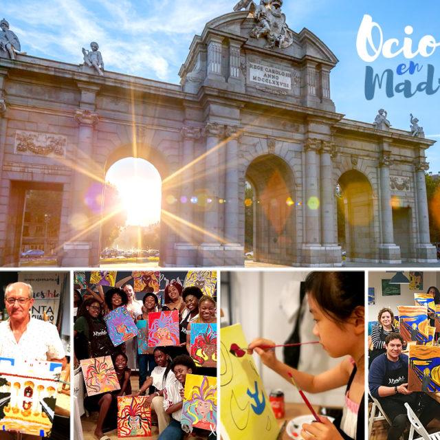Ocio en Madrid, pinta tu propio cuadro