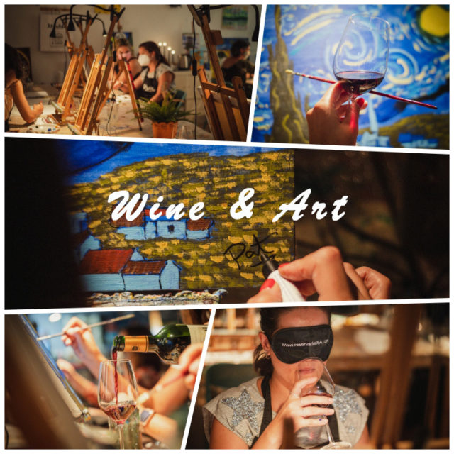 Vino y Arte se unen en una experiencia original de team building para empresas